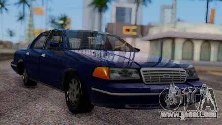 Ford Crown Victoria Civillian para GTA San Andreas