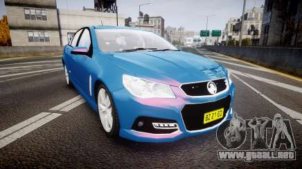 Holden VF Commodore SS Unmarked Police [ELS] para GTA 4