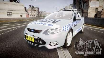 Ford Falcon FG XR6 Turbo Police [ELS] para GTA 4