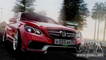 Mercedes-Benz W212 E63 AMG para GTA San Andreas