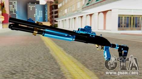 Fulmicotone Chromegun para GTA San Andreas