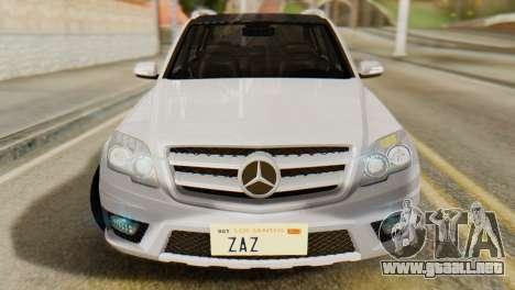 Mercedes-Benz GLK320 2012 para la visión correcta GTA San Andreas
