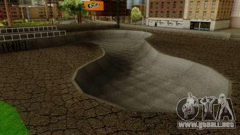 HD Skate Park para GTA San Andreas tercera pantalla