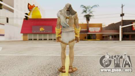 Zeus v2 God Of War 3 para GTA San Andreas tercera pantalla