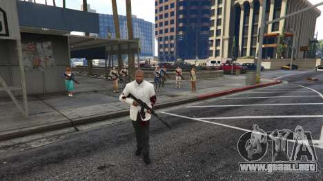 GTA 5 Bodyguard Menu 1.7 tercera captura de pantalla