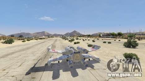 GTA 5 Xwing-Hydra Hybrid cuarto captura de pantalla