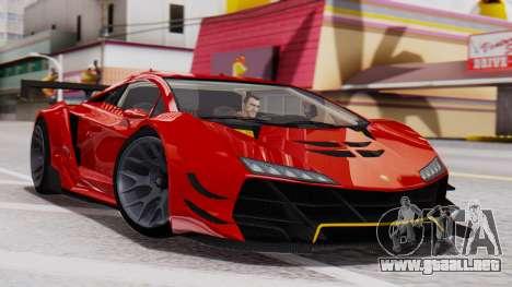 Pegassi Zentorno SM GT3 para GTA San Andreas