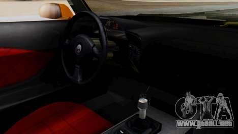Honda S2000 Fast and Furious para la visión correcta GTA San Andreas