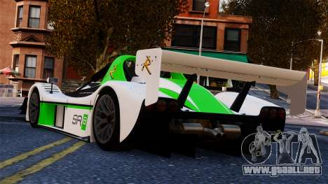 Radical SR8 RX 2011 para GTA 4 left