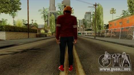 VanossGaming Skin para GTA San Andreas tercera pantalla