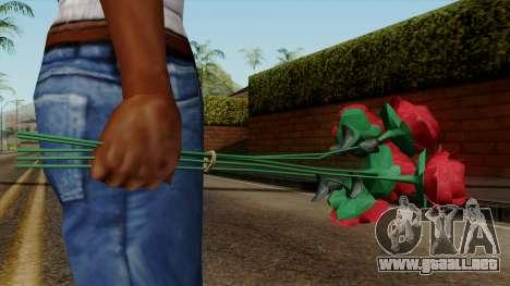 Original HD Flowers para GTA San Andreas tercera pantalla