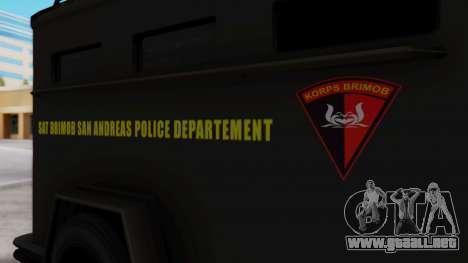GTA 5 Enforcer Indonesian Police Type 2 para la visión correcta GTA San Andreas
