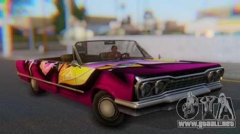 Savanna New PJ para la visión correcta GTA San Andreas