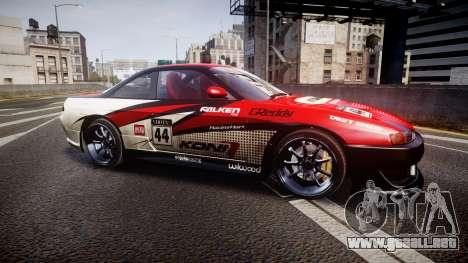 Nissan Silvia S14 Koni para GTA 4 left
