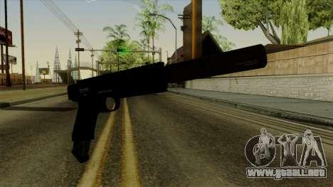 AP Pistol with Supressor para GTA San Andreas