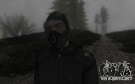GTA5 Gasmask para GTA San Andreas tercera pantalla