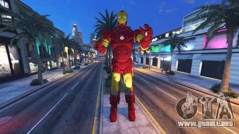 La estatua de iron man para GTA 5