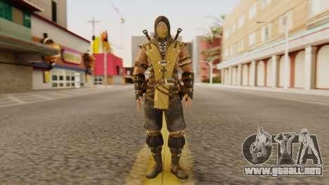 Scorpion [MKX] para GTA San Andreas segunda pantalla