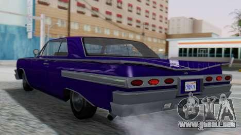 GTA 5 Declasse Voodoo IVF para GTA San Andreas left