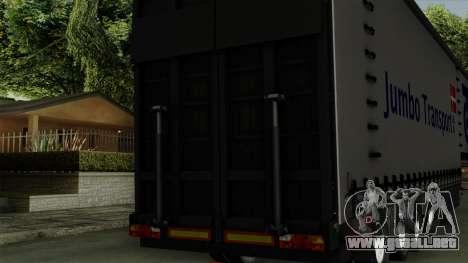 Trailer Krone Profiliner v4 para la visión correcta GTA San Andreas