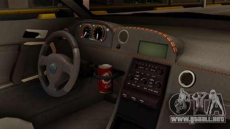 GTA 5 Annis Elegy RH8 SA Style para la visión correcta GTA San Andreas