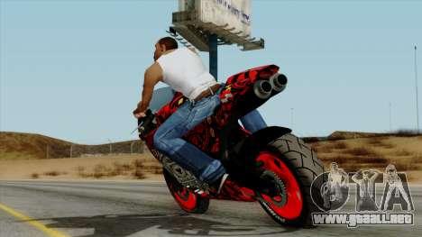 Bati Batik Motorcycle v2 para GTA San Andreas left