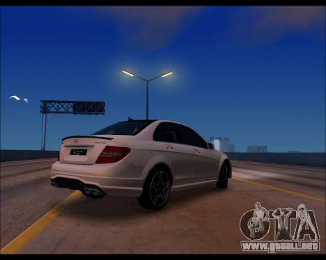 Project 0.1.4 (Medium/High PC) para GTA San Andreas sucesivamente de pantalla