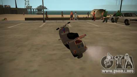 Stunt-Faggio para GTA San Andreas left