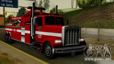 FDSA Heavy Rescue Truck para GTA San Andreas