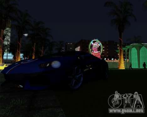ENB Pizx para GTA San Andreas quinta pantalla