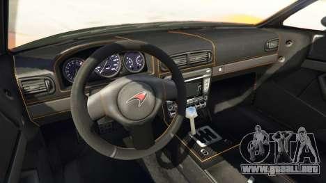 GTA 5 Progen T20 McLaren P1 vista lateral derecha