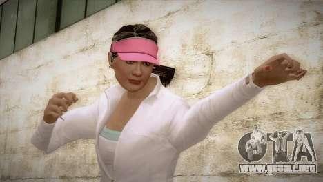 GTA 5 Amanda De Santa Tennis Skin para GTA San Andreas