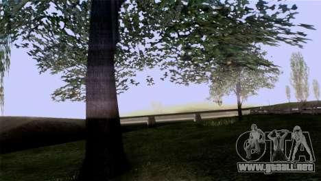La textura de los árboles de la MGR para GTA San Andreas quinta pantalla