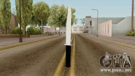 Original HD Knife para GTA San Andreas
