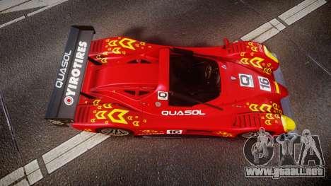 Radical SR8 RX 2011 [16] para GTA 4 visión correcta