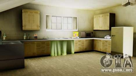 El nuevo interior de la casa de CJ para GTA San Andreas séptima pantalla