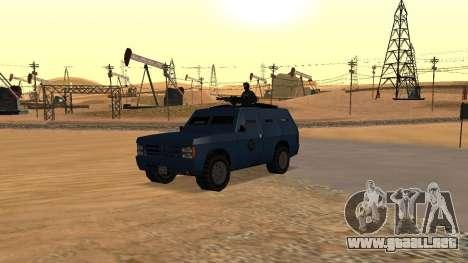 DLC Big Cop and All Previous DLC para GTA San Andreas undécima de pantalla
