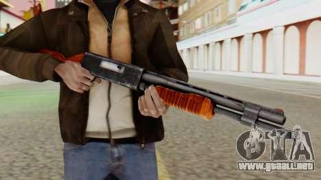 Xshotgun escopeta de Bomba para GTA San Andreas tercera pantalla