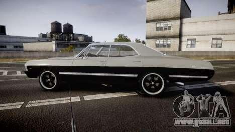 Chevrolet Impala 1967 Custom para GTA 4 left