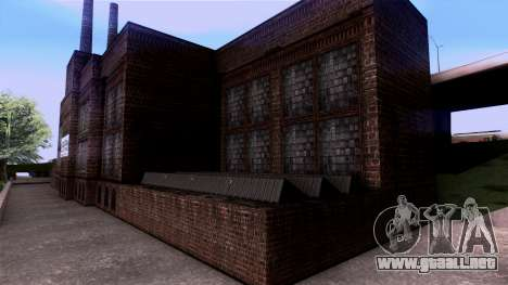 HQ Textures San Fierro Solarin Industries para GTA San Andreas quinta pantalla