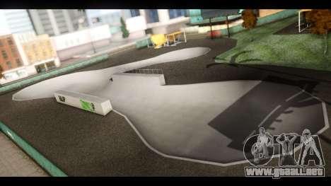 El Hospital y el Parque de skate para GTA San Andreas novena de pantalla