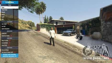 GTA 5 QF Mod Menu 0.3 tercera captura de pantalla