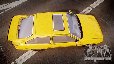 Ford Sierra RS500 Cosworth v2.0 para GTA 4 visión correcta