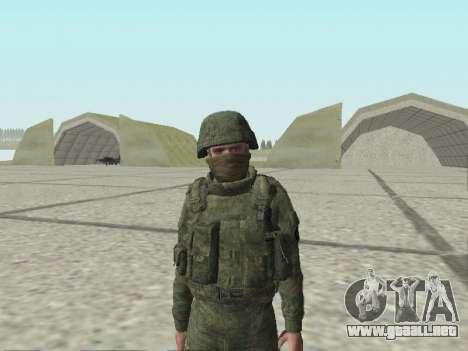 Pak combatientes de las tropas especiales del GR para GTA San Andreas décimo de pantalla