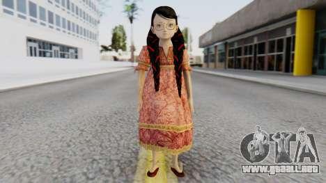 Cereza Bayonetta (child) para GTA San Andreas segunda pantalla