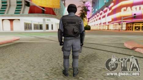 [GTA 5] SWAT para GTA San Andreas tercera pantalla