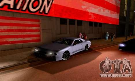 Realistic ENB for Medium PC para GTA San Andreas sucesivamente de pantalla