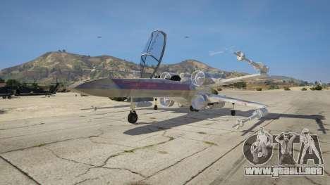 GTA 5 Xwing-Hydra Hybrid tercera captura de pantalla