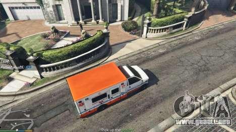 GTA 5 La misión de la ambulancia v. 1.3 segunda captura de pantalla
