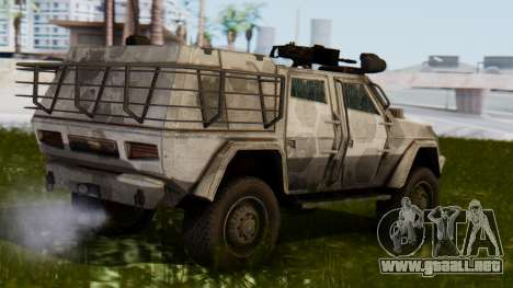 BAE Systems JLTV para GTA San Andreas left
